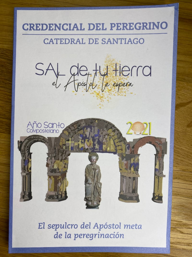 Official Camino HOLY YEAR 2021/2022 Passport (Credential)