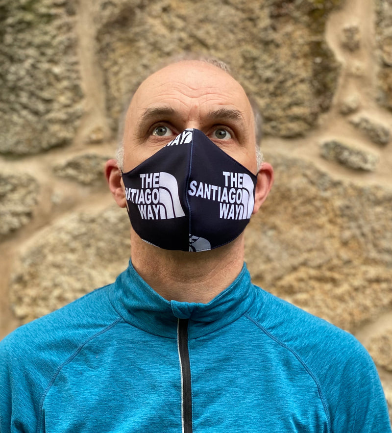 Reusable Camino de Santiago Mask (The Santiago Way)