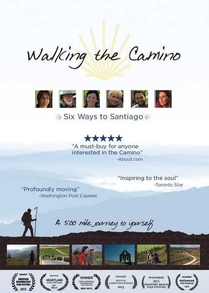 "DVD: Walking the Camino, ""Six ways to Santiago"""