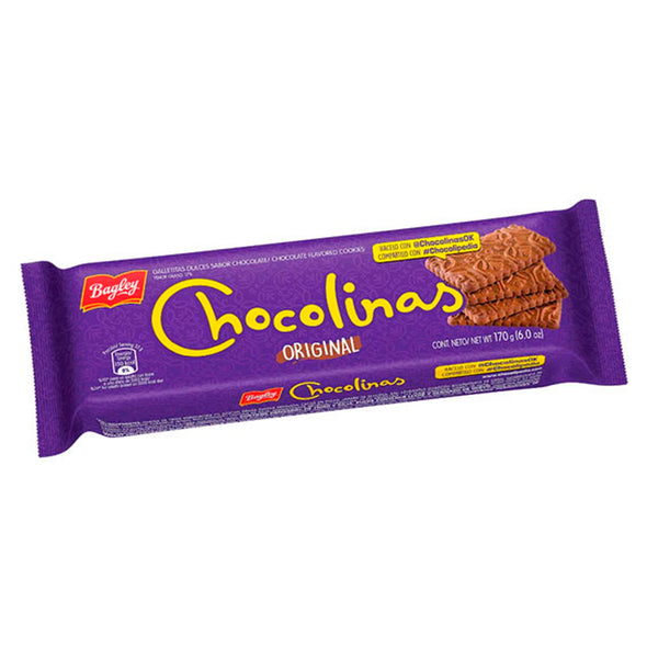 CHOCOLINAS GALLETA X 170GR