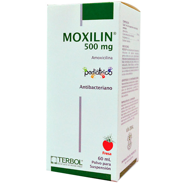 Moxilin 500Mg 5Ml Suspension 60Ml Amoxicilina