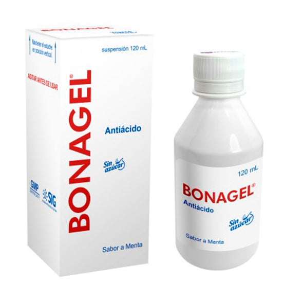 BONAGEL SUSPENSION X 120ML HIDROXIDO ALUMINIO MEGNESIO