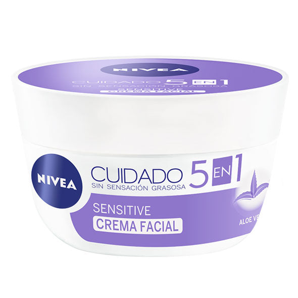 NIVEA CUIDADO CREMA FACIAL X 101ML SENSITIVE