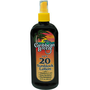 Caribbean Breeze Spf 20 Sunblock  X 8.5Oz   30077
