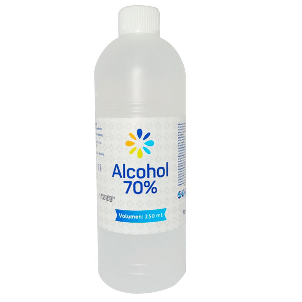 ALCOHOL ETILICO 70 SOL. FARMACORP X 250ML