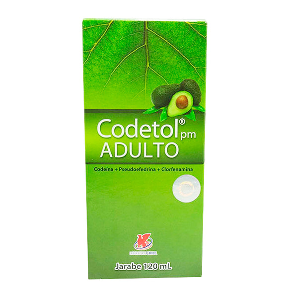 CODETOL PM ADULTO JARABE X 120ML