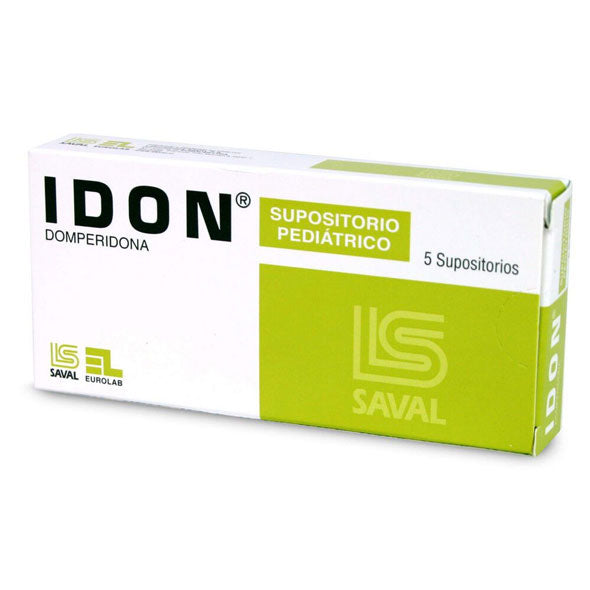 Idon 30Mg  Supositorios Domperidona