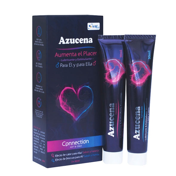 Azucena Gel Connection 2 X 30Ml Lubricant Estimula