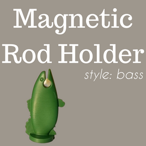 The Bass-- Magnetic Rod Holder-- NEW! SUPER POWERFUL RARE EARTH MAGNET!