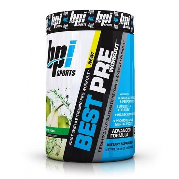 BPI Keto Best Pre-Workout