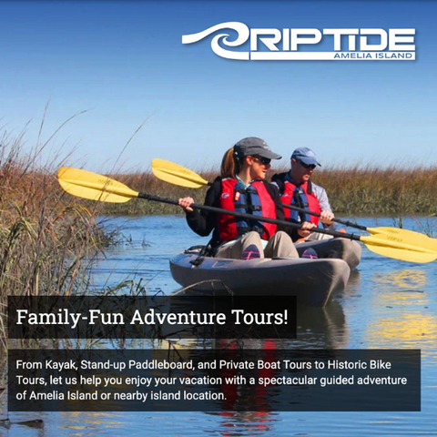 Watersports, Beach Rentals, & Tours | Riptide Amelia Island