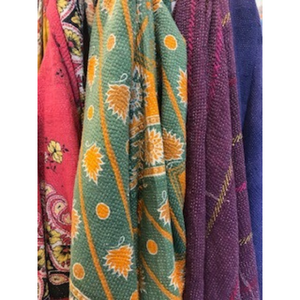 Kantha Quilt | Fern and Dina's Gallery & Gifts