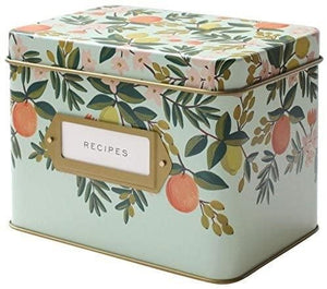 Floral Recipe Box | Hudson & Perry