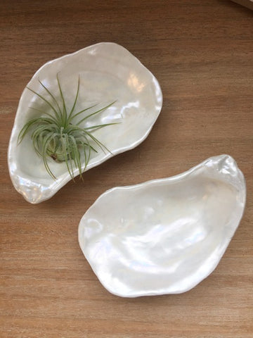 Ceramic Oyster Dishes | Amelia Makery
