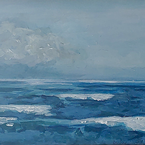 Ocean Painting | 2nd Story Gallery & Studios