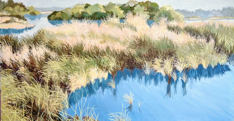 Egan's Creek Reclaimed Painting | Carol Winner Art Gallery