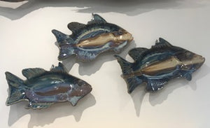 Ceramic Fish Platter | Fern and Dina's Gallery & Gifts