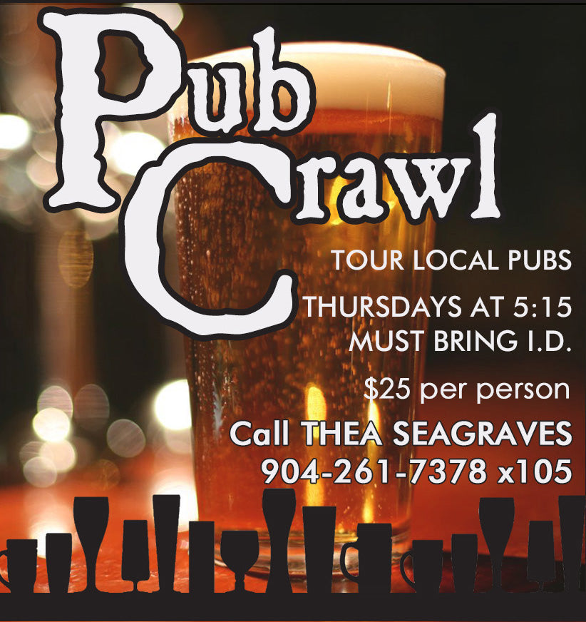 Pub Crawl Ticket | Amelia Island Museum of History