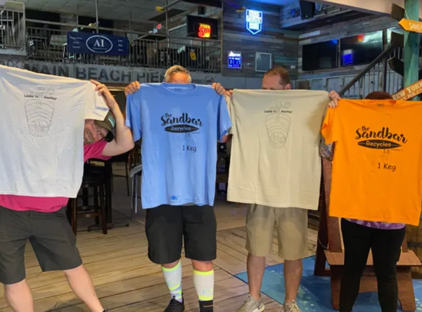 T-Shirts | The Sandbar and Kitchen