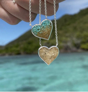 Dune Heart Necklace | Twisted Sisters!