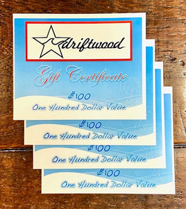 Gift Card | Driftwood Surf Shop