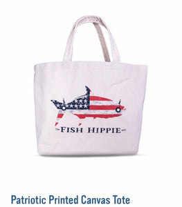 Fish Hippie Canvas Tote | JJ Cooper