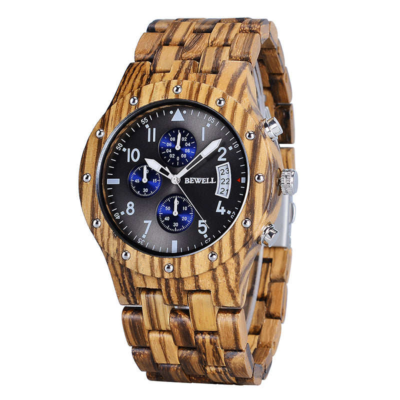 Luxuary Wooden Mens Wristwatches