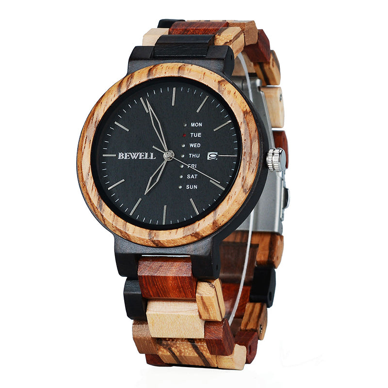 Colorful Wood Watches for Men
