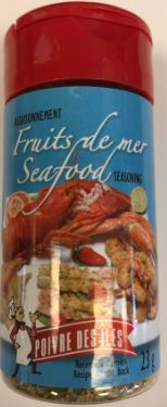 Assaisonnement à Fruits de mer