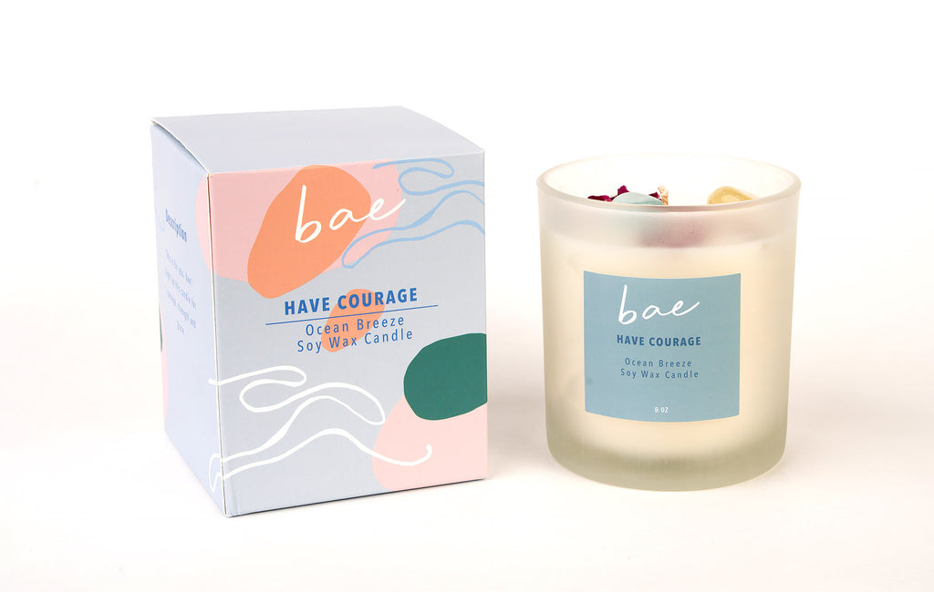 Have Courage Candle