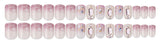 DASHING DIVA MAGIC PRESS GEL NAIL ART MANICURE 30 PIECES - BIGSTONE - SOPHIA