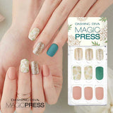 DASHING DIVA MAGIC PRESS GEL NAIL ART MANICURE 30 PIECES - VINTAGE BLOSSOM