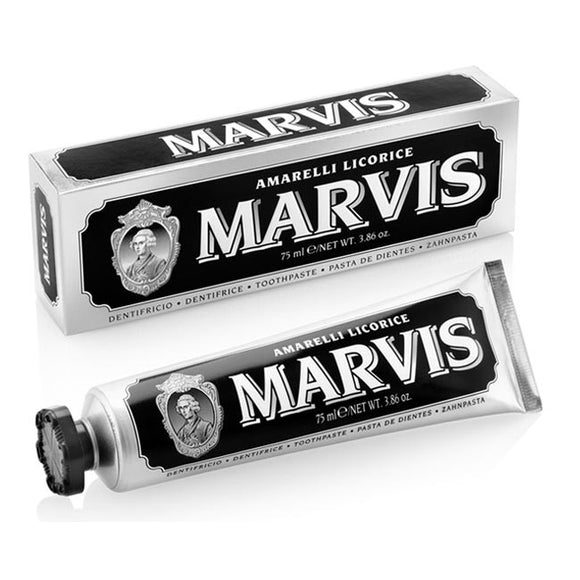 MARVIS LUXURY ORAL CARE TOOTHPASTE 75ml - AMARELLI LICORICE