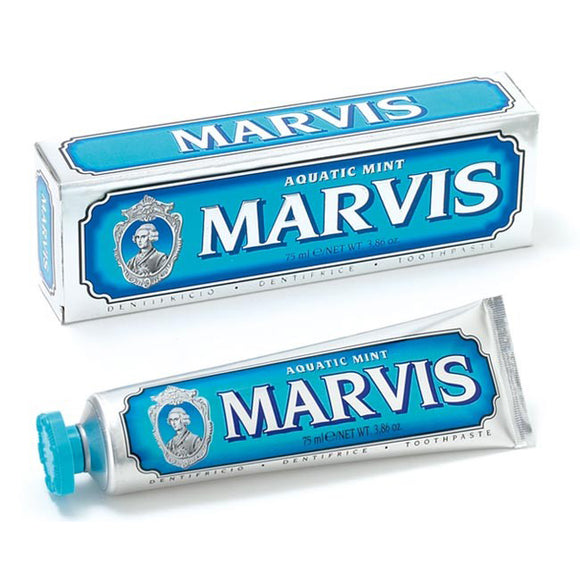 MARVIS LUXURY ORAL CARE TOOTHPASTE 75ml - AQUATIC MINT