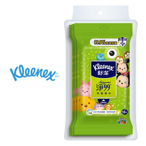 KLEENEX x DISNEY TSUM TSUM SANITIZING WET NAPKINS 30 SHEETS