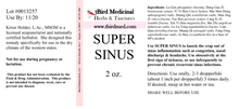 Load image into Gallery viewer, Super Sinus - 2oz