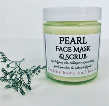 Load image into Gallery viewer, Pearl Face Mask & Scrub