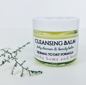 Cleansing Balm--two skin types