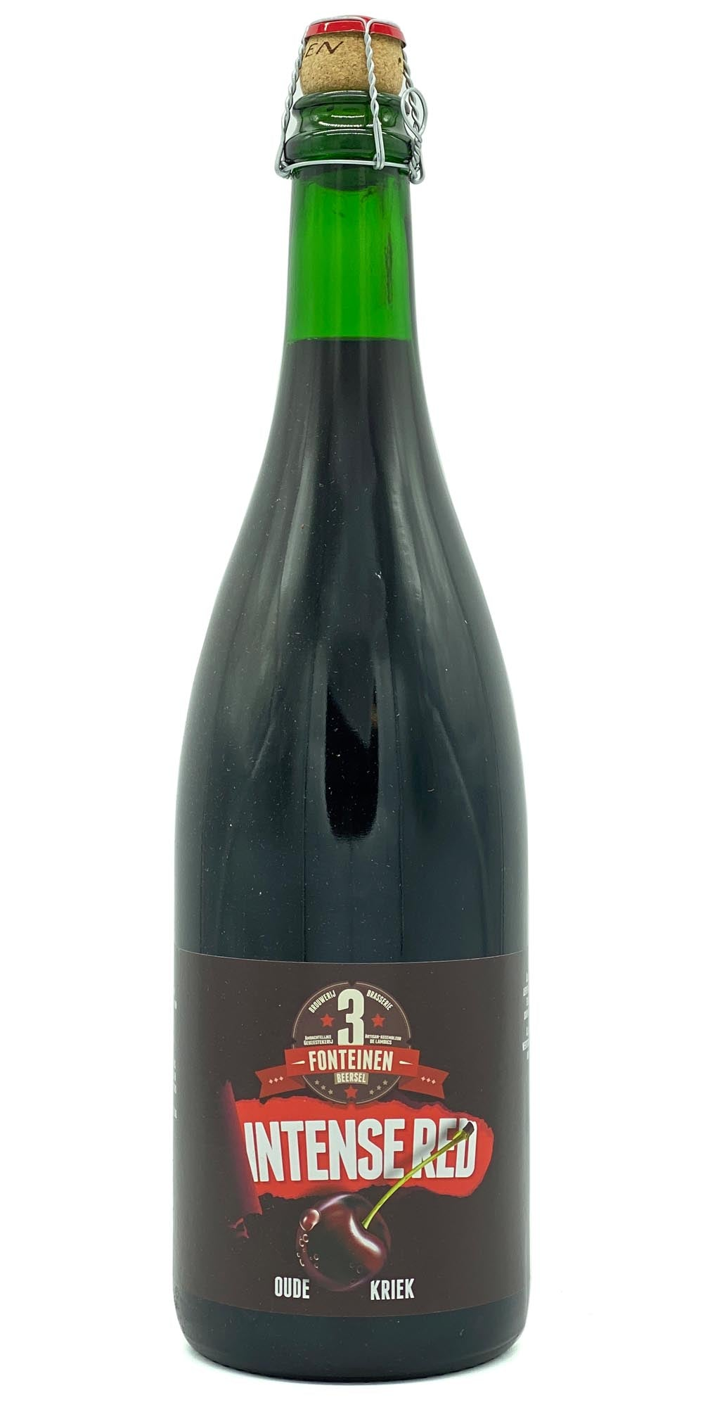 3 Fonteinen - Intense Red Oude Kriek 2016 - Drikbeer - Order Craft Beer Online