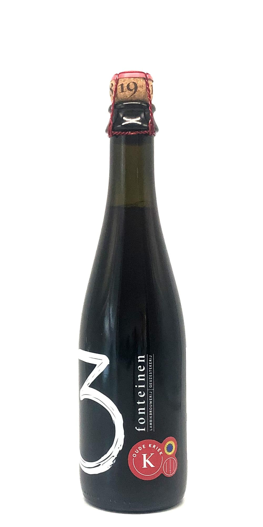 3 Fonteinen - Oude Kriek #66 Barrel Macerated (2019) - 375ml - Drikbeer - Order Craft Beer Online