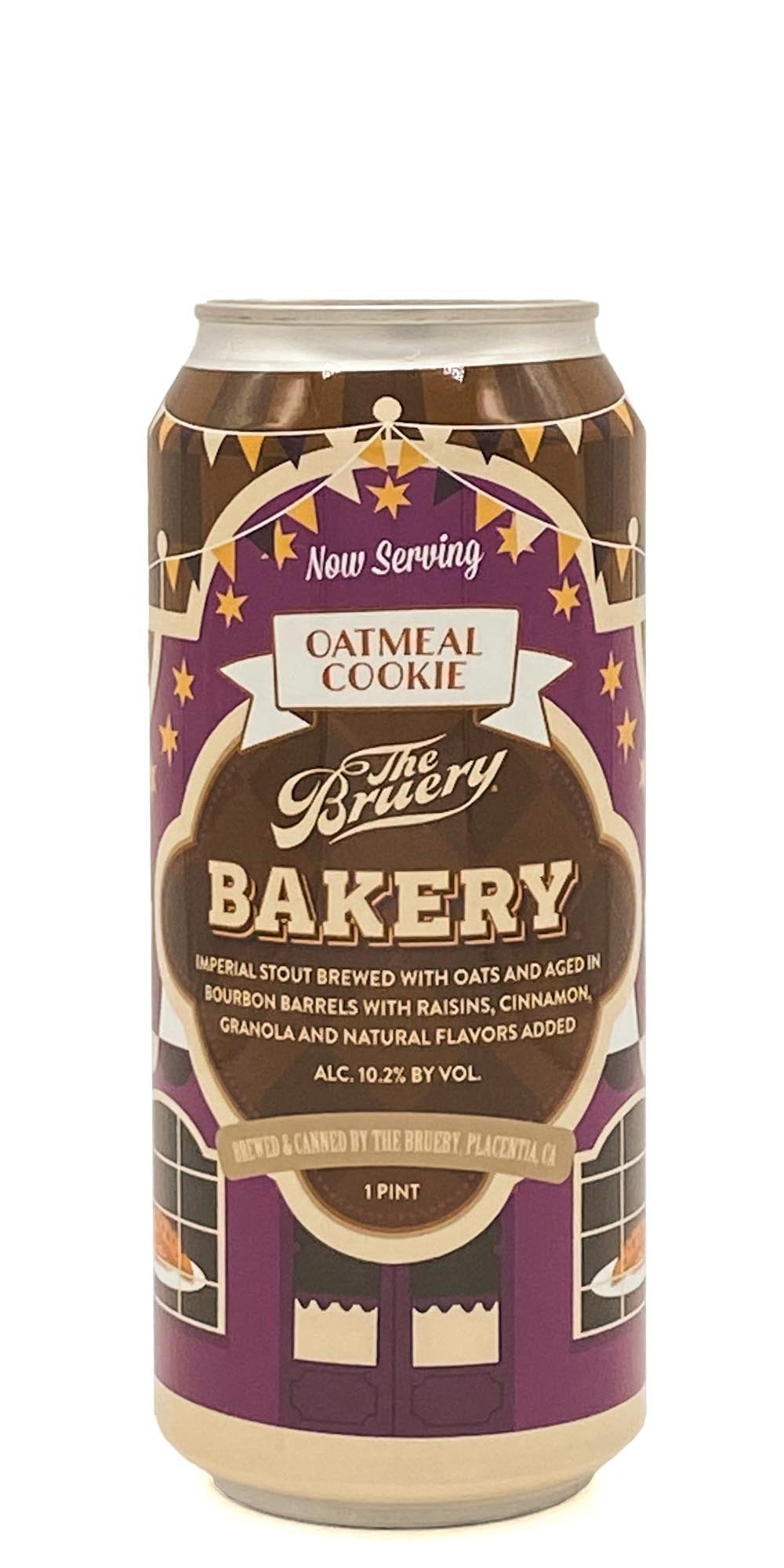 The Bruery - Bakery: Oatmeal Cookie - Drikbeer - Order Craft Beer Online