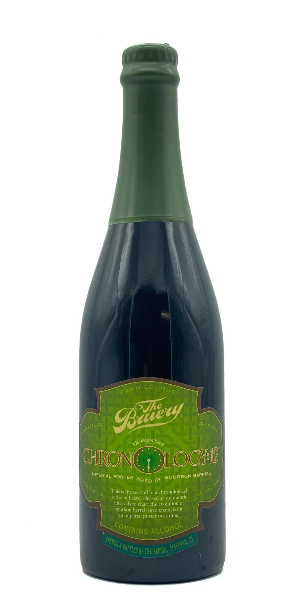 The Bruery - Chronology: 12 - Imperial Porter 2017
