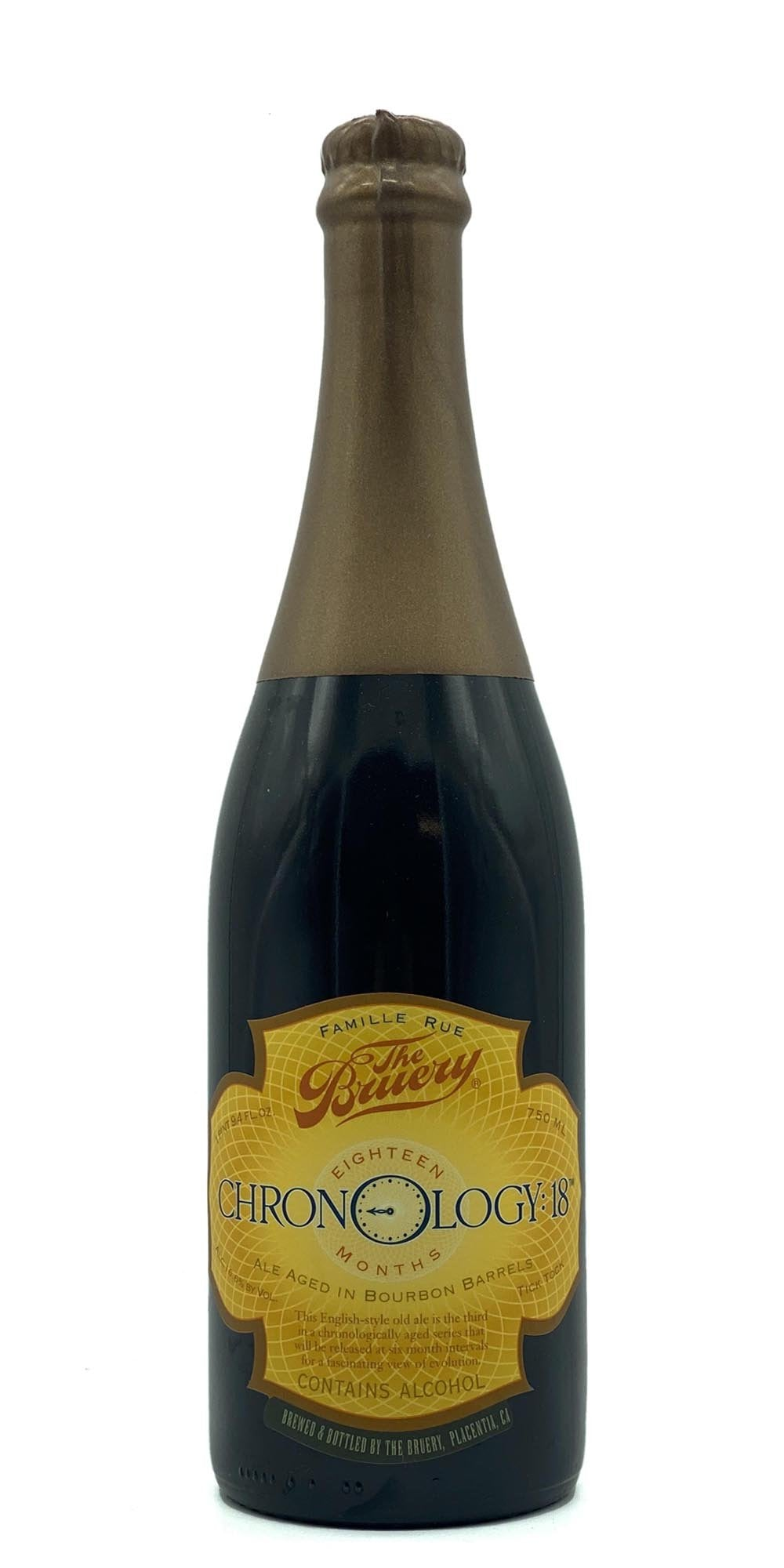The Bruery - Chronology: 18 - Old Ale 2015