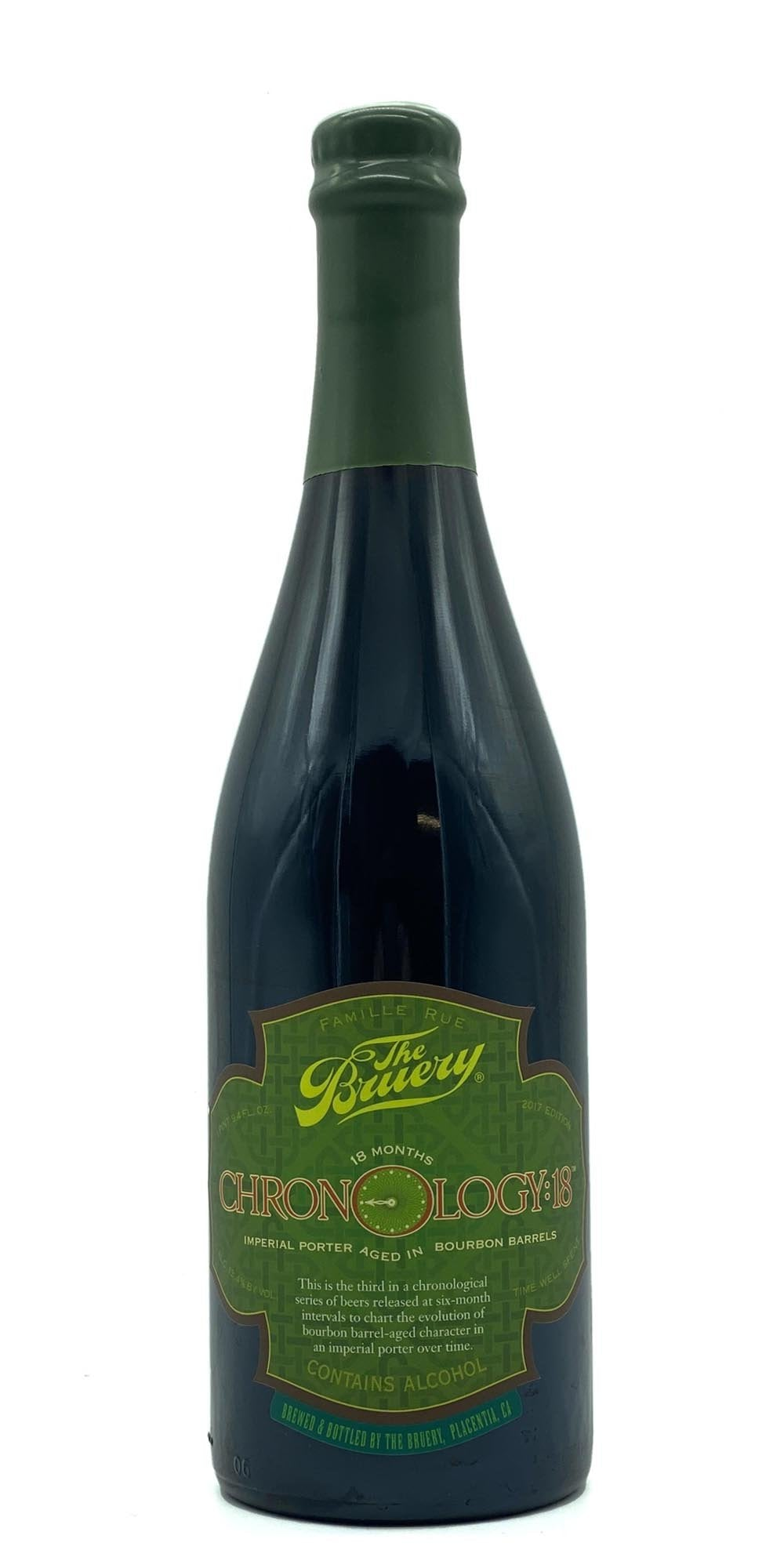 The Bruery - Chronology: 18 - Imperial Porter 2017