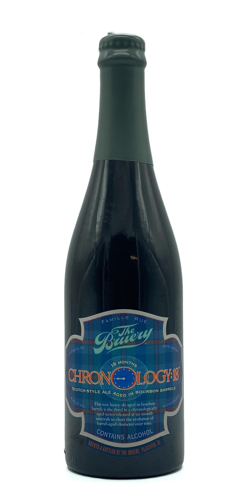 The Bruery - Chronology: 18 - Wee Heavy 2016