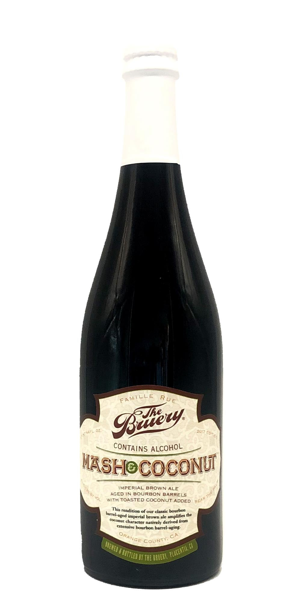 The Bruery - Mash & Coconut 2017 - Drikbeer - Order Craft Beer Online
