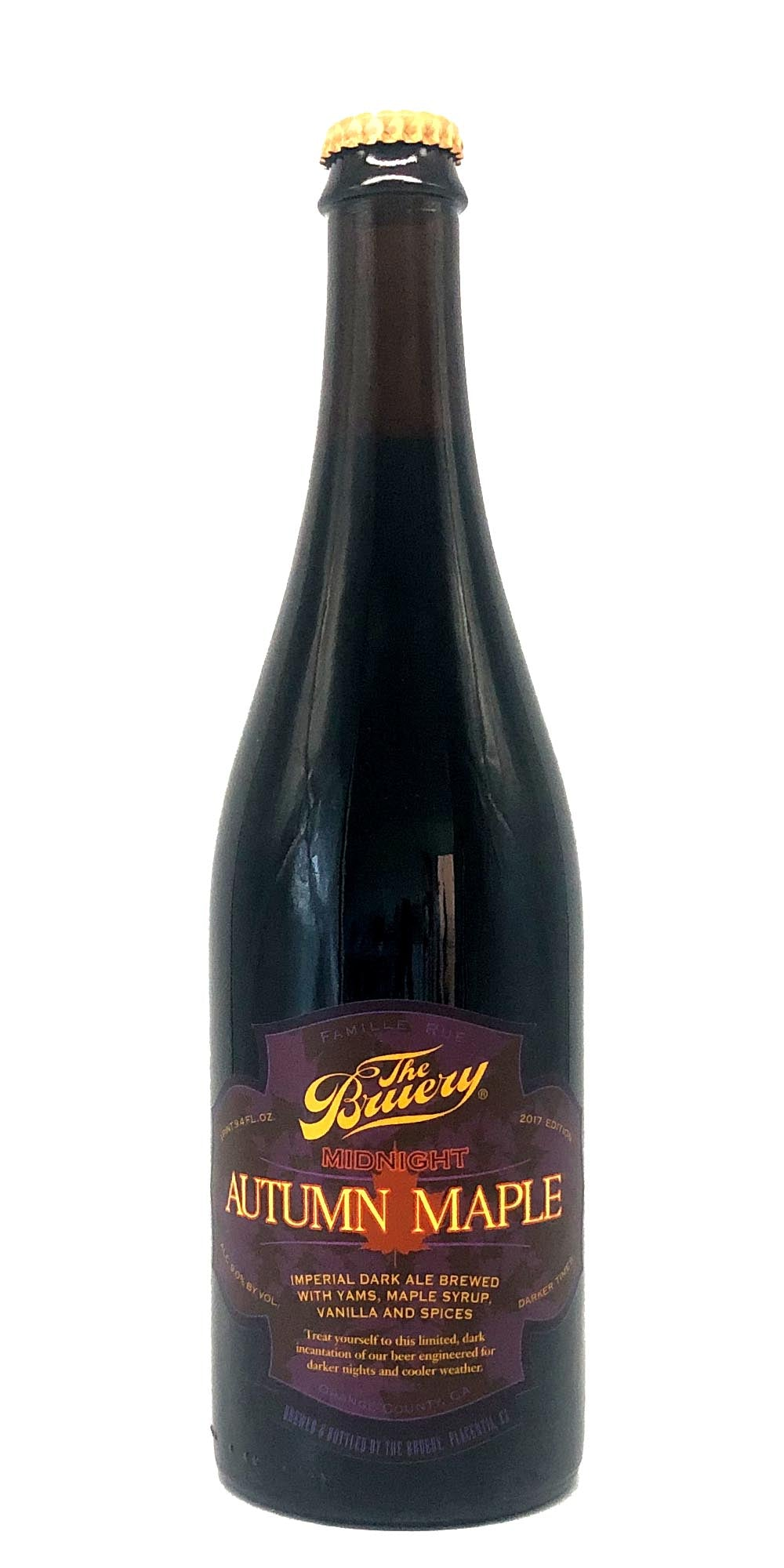 The Bruery - Midnight Autumn Maple - Drikbeer - Order Craft Beer Online