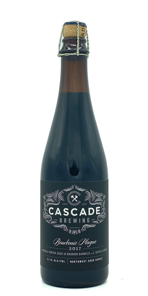 Cascade Brewing - Bourbonic Plague 2017 - Drikbeer - Order Craft Beer Online