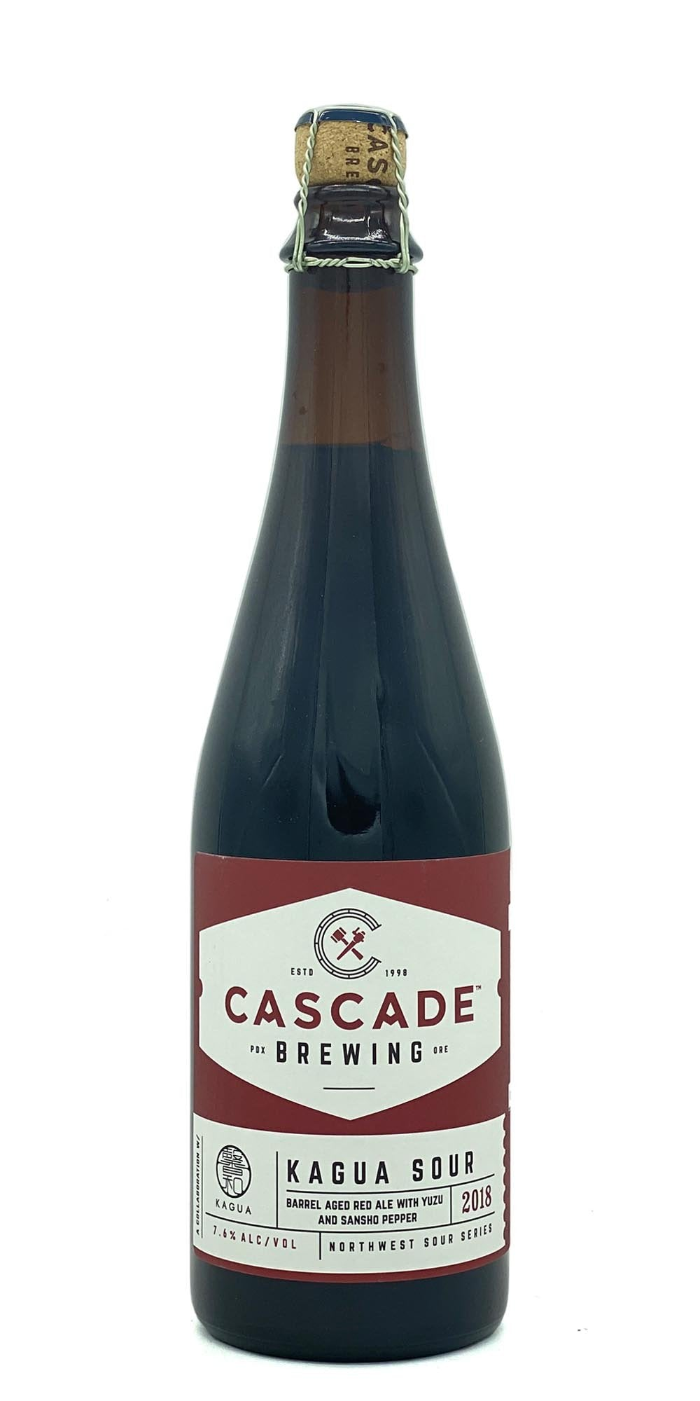 Cascade Brewing / Far Yeast Brewing - Kagua Sour  2018 - Drikbeer - Order Craft Beer Online