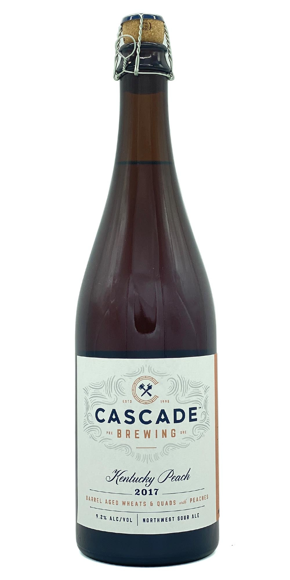 Cascade Brewing - Kentucky Peach 2017 - Drikbeer - Order Craft Beer Online
